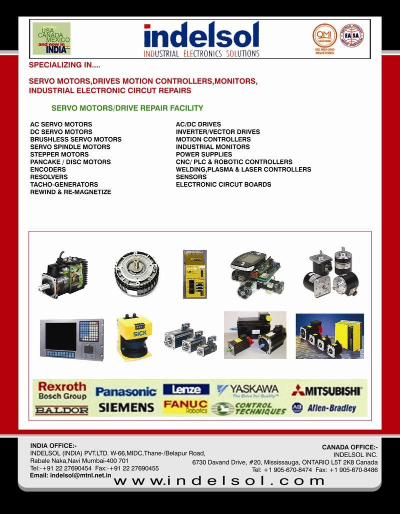 Servo Motor,Drives,Plc,Vfd,Electronic Circuit Board Repairs